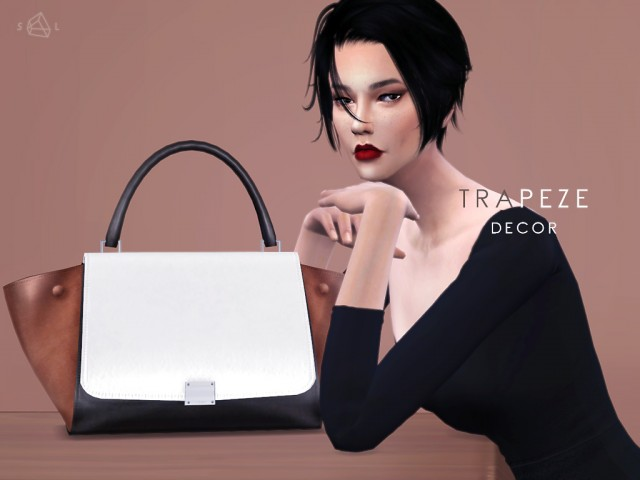 Decor Handbag - TRAPEZE by starlord