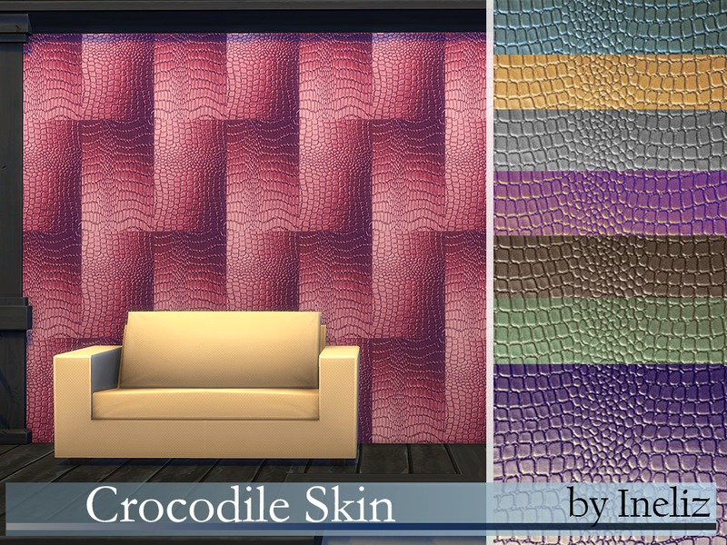 Crocodile Skin   BY Ineliz