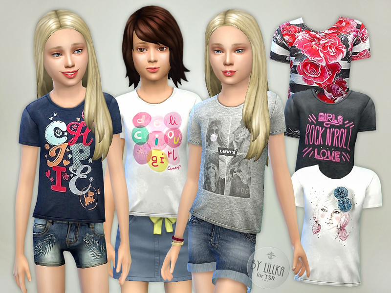 T- Shirt Collection GP05 BY lillka