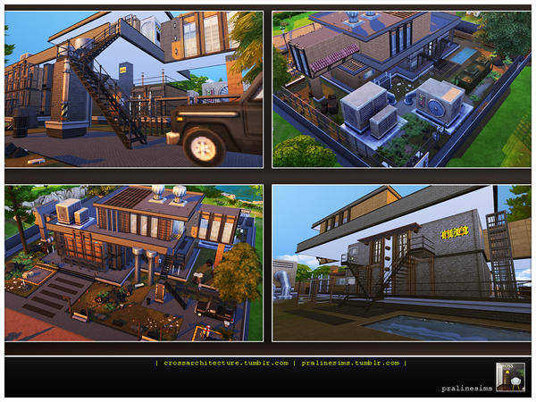 THE FACTORY - Industrial Living by Pralinesims
