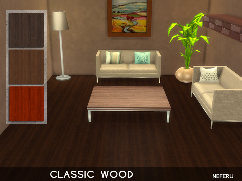 Classic Wood  BY Neferu