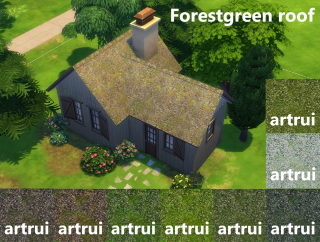 Forestgreen roof by artrui