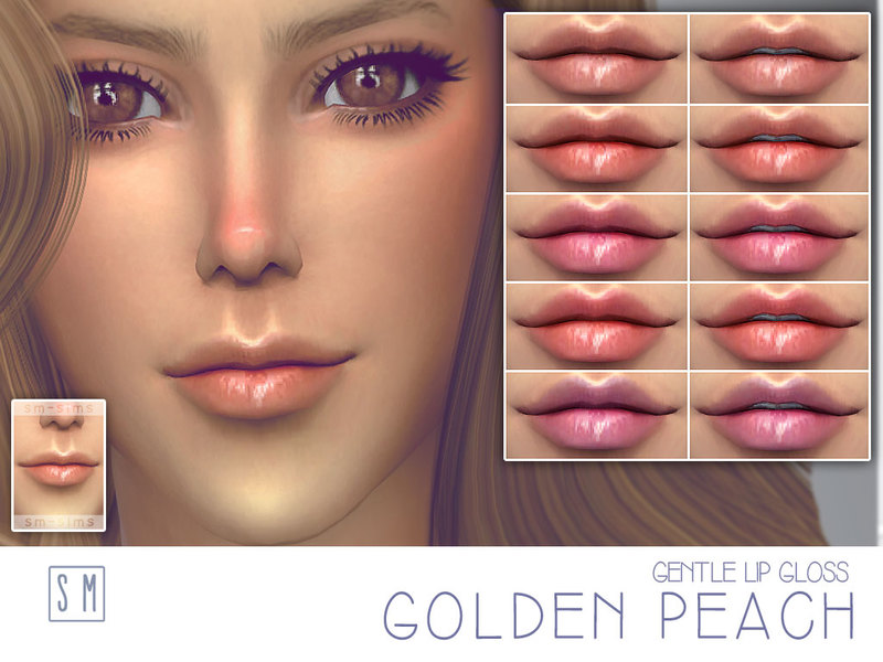[ Golden Peach ] - Gentle Lip Gloss BY Screaming Mustard