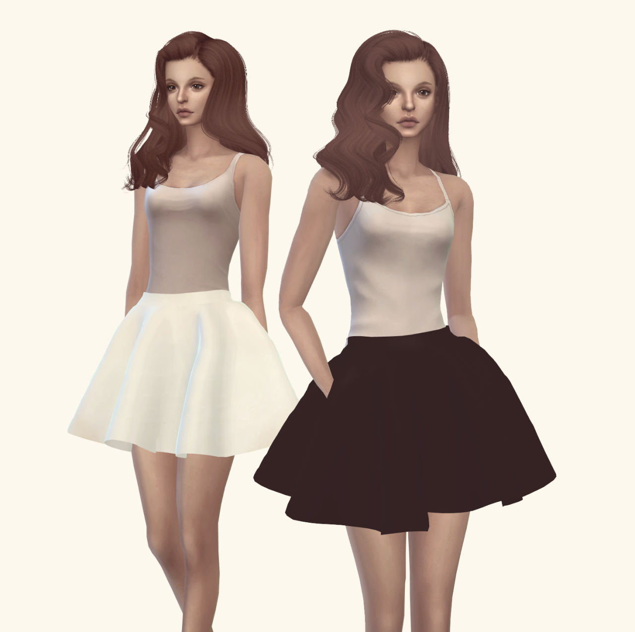 Dress Recolors by VintageySims