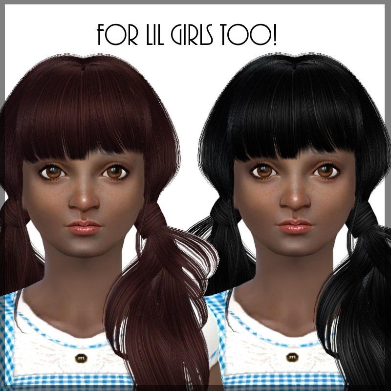 Hair Retexture for Females by Dachs