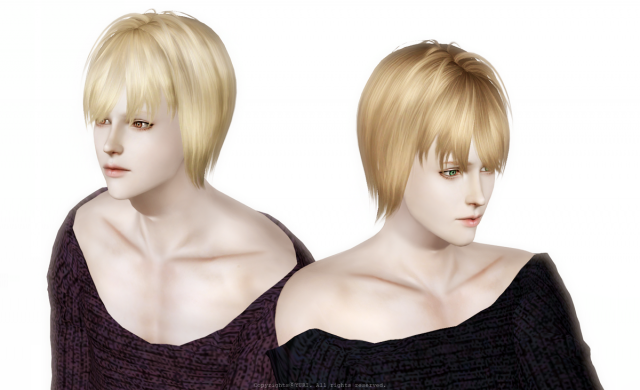 NewSea Sims3 Hair J145 Edit B by YURI