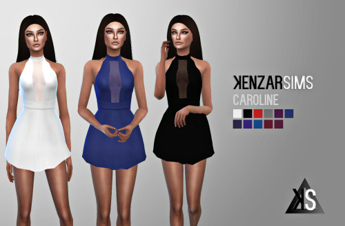 Caroline Dress by KenzarSims