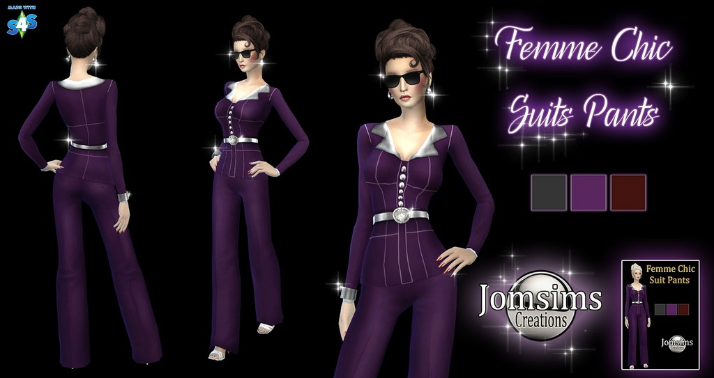 Femme Chic Pant Suit by JomSims
