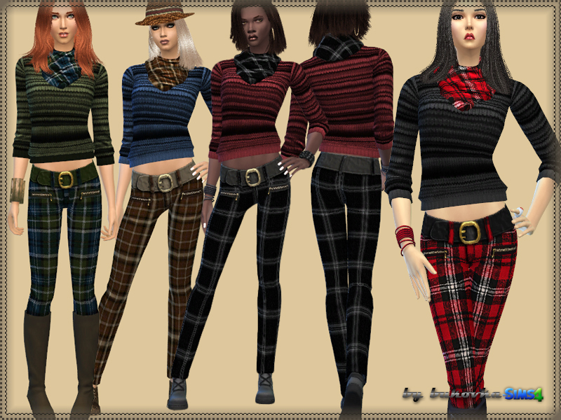 Set Pants and Sweater  BY bukovka