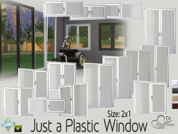 Just a Plastic Window (2x1) by BuffSumm