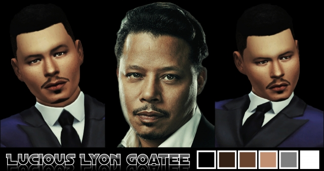 Lucious Lyon Goatee by Magentasims