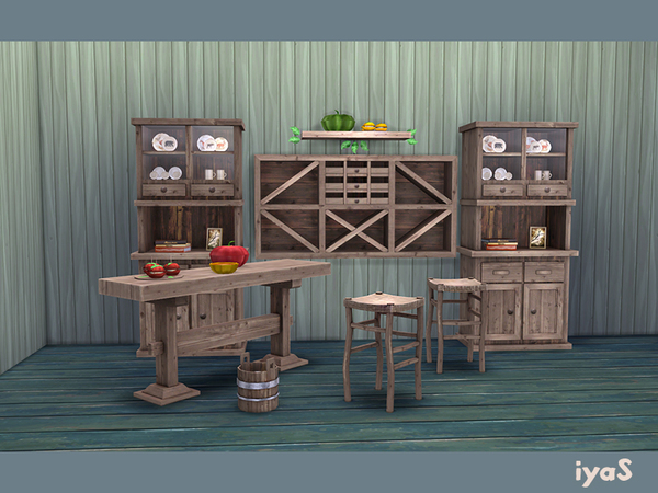 Rustic Country Set by soloriya