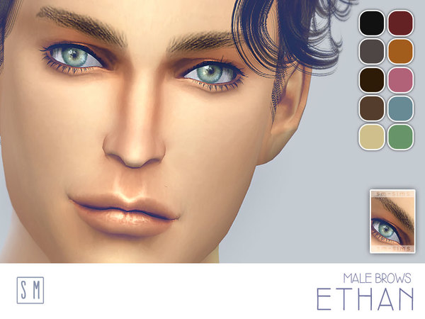 [ Ethan ] - Male Brows by Screaming Mustard