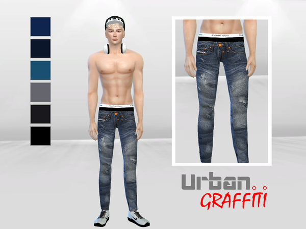 Street Summit Denim Jeans by McLayneSims