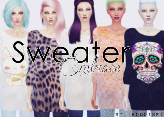 SWEATER EMBRACE BY TURQUOISE