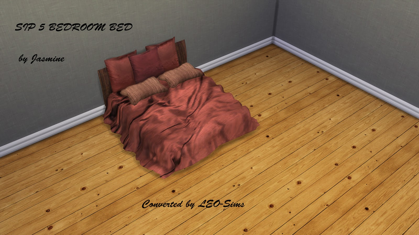 SIMS IN PARIS BEDS- CONVERSIONS By Leo sims