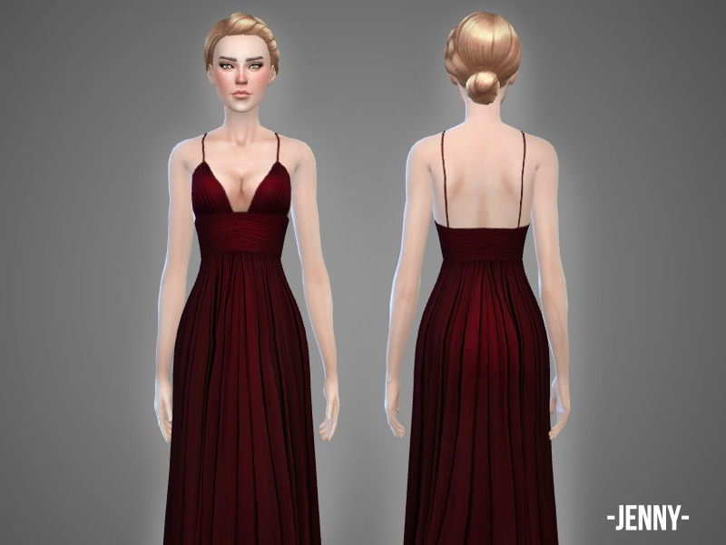 Jenny - gown  BY -April-