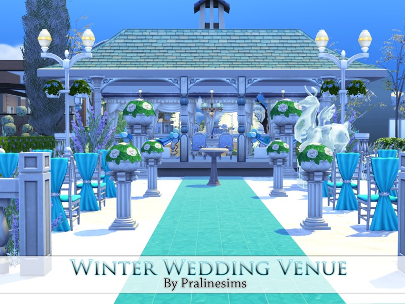 Winter Wedding Venue BY Pralinesims
