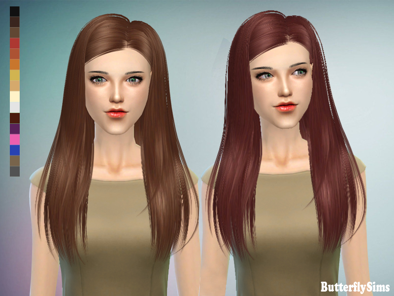 ButterflySims 143 Hair for Females