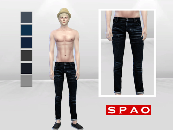 Captain Everett Denim Jeans by McLayneSims