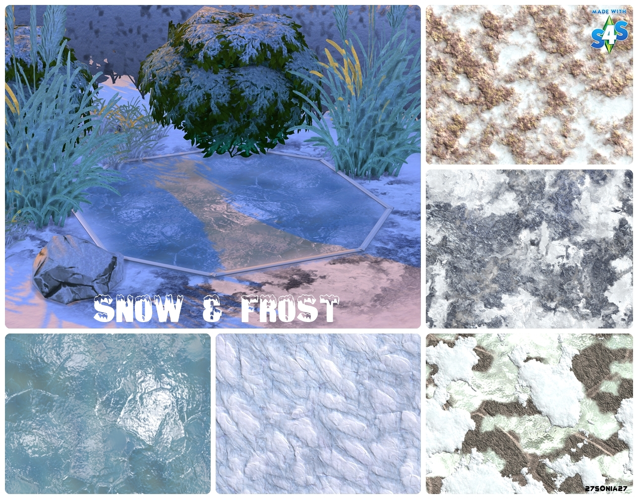 Snow & Frost Terrain Paints by 27Sonia27