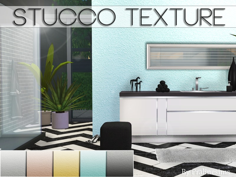 Stucco Texture  BY Pralinesims