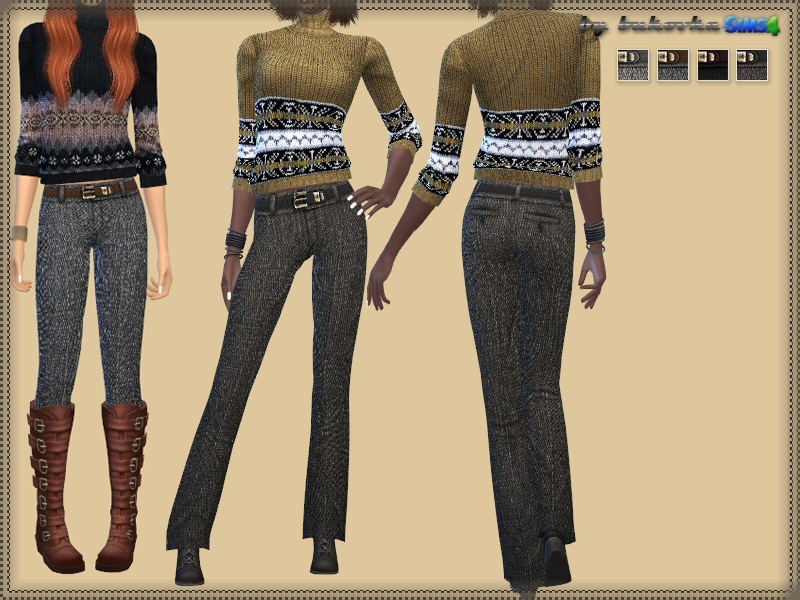 Tweed Pants  BY bukovka