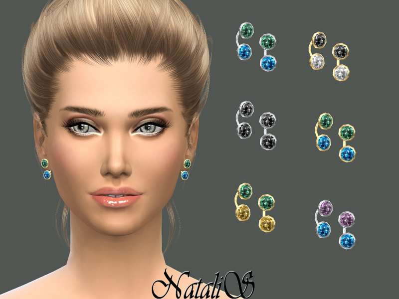 Semi-precious gemstone earrings  BY NataliS