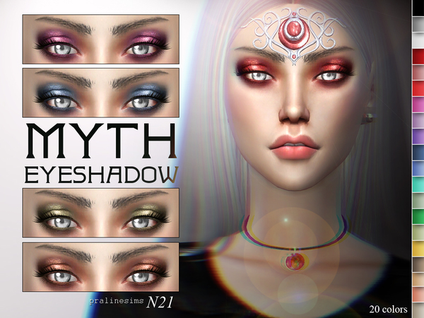 Myth Eyeshadow  N21 by Pralinesims