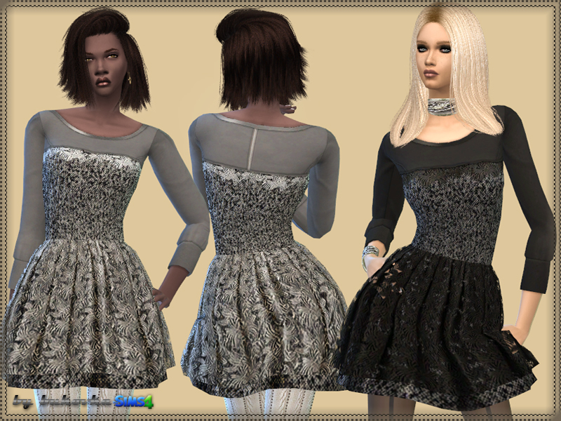 Dress Tweed & Lace  BY bukovka