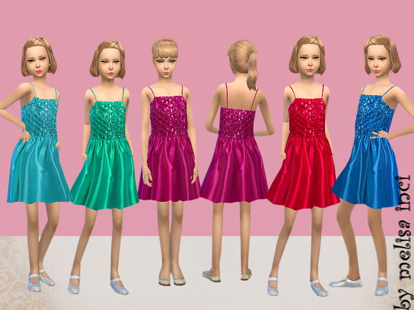 Embellished Party Dress by melisa inci
