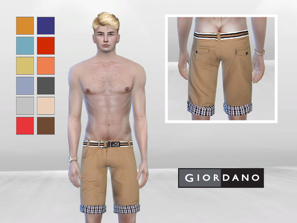 Hippy Flare Shorts by McLayneSims