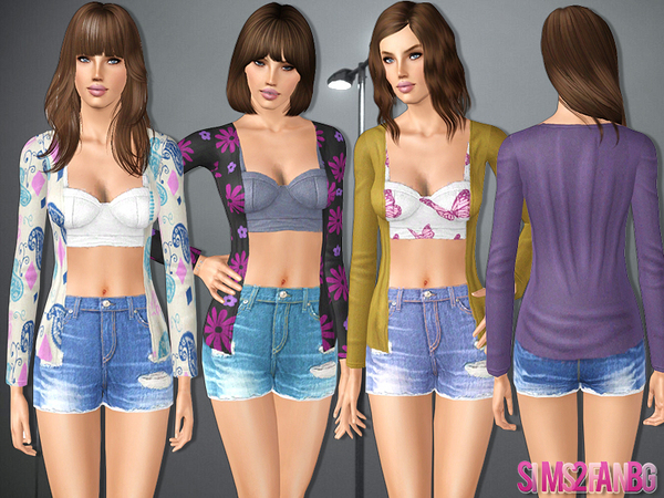 433 - Casual outfit by sims2fanbg