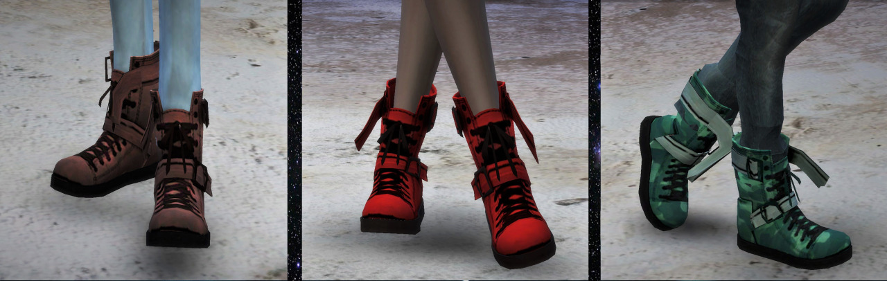 TS3 Boots Conversion for Males & Females by Mmmmeherrr