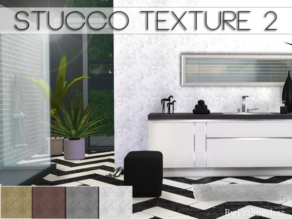 Stucco Texture 2 by Pralinesims