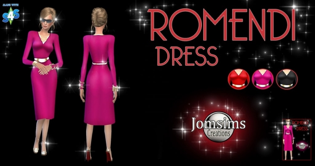 ROMENDI DRESS by JomSims