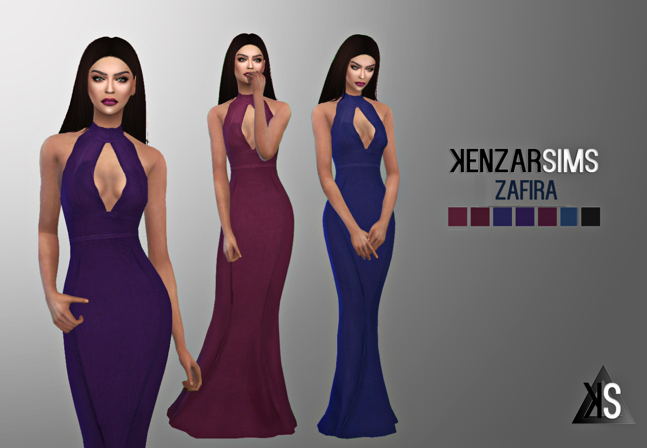 KENZAR- ZAFIRA DRESS