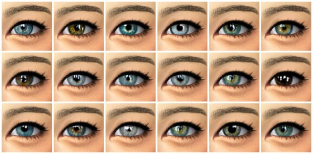 Lucky Mix Eyes by LullabySims