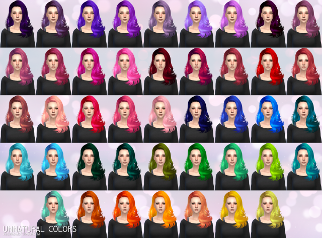 Skysims Hair 221 - Retexture by Aveira