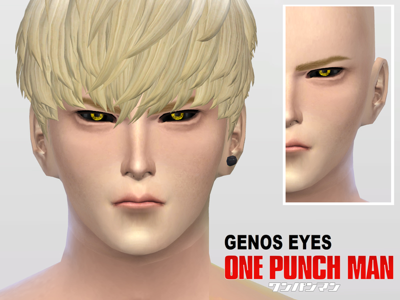 One Punch Man Genos Eyes BY McLayneSims