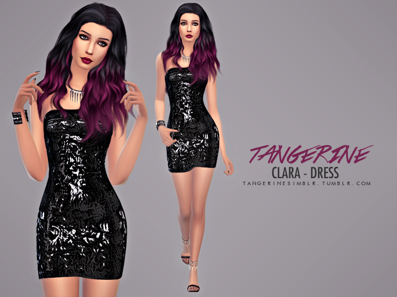 Clara - Dress  BY tangerinesimblr