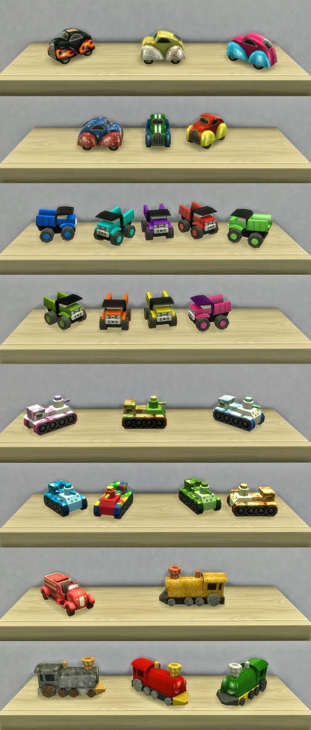 Playable Toy Cars by K9DB
