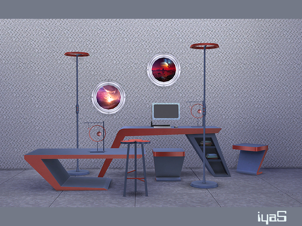 Futuristic set by soloriya