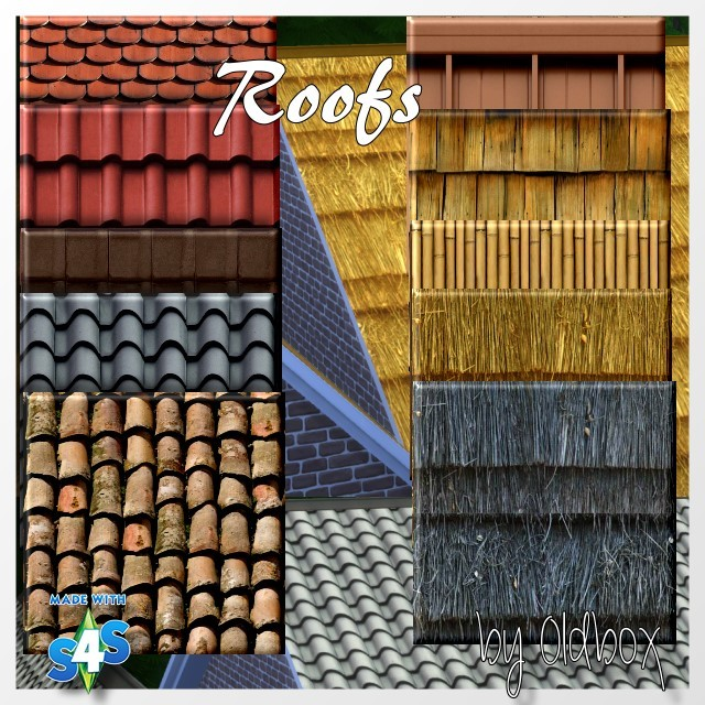Dachziegel/Roofs by Oldbox