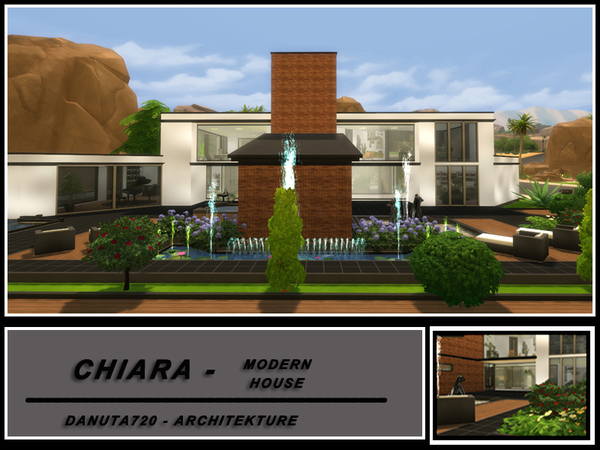 Chiara - Modern House by Danuta720