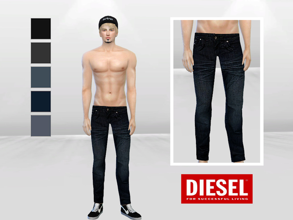 Dark Coast Denim Jeans by McLayneSims