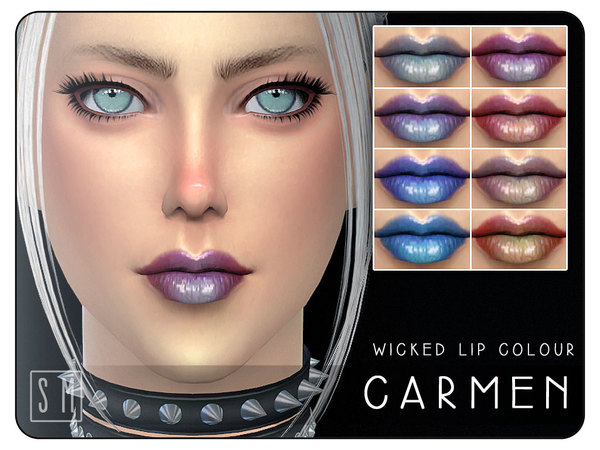 [ Carmen ] - Wicked Lip Colour by Screaming Mustard