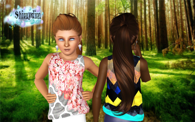 Skysims 266 Conversion Child and Toddler by ShimydimSims