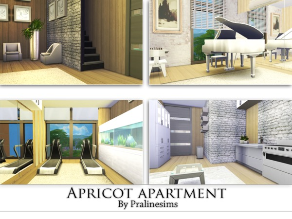 Apricot Apartment by Pralinesims