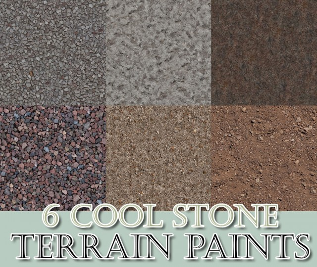 6 Cool Stone Terrain Paints by BloodyScholastic